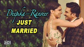 Deepika – Ranveer JUST MARRIED | CONGRATULATIONS - IANSLIVE