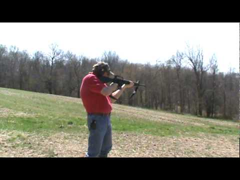 Bushmaster AR 15 Shoot