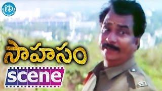 Sahasam Movie Scenes - Rallapalli Comedy || Jagapathi Babu || Bhanu Chander || Suresh Krishna - IDREAMMOVIES