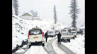 J&K में भारी बर्फबारी, बर्फबारी की वजह से जम्मू-श्रीनगर हाइवे बंद - ITVNEWSINDIA