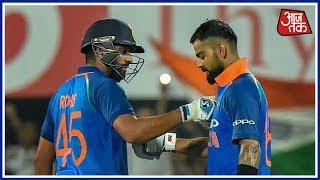 Kohli, Rohit Put On A Batting Masterclass As India Hammer West Indies In 1st ODI - AAJTAKTV