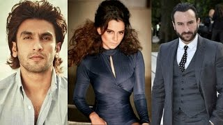 Ranveer Singh confused to shave his head!, Saif Ali  Khan to romance Richa Chadda and Kangna Ranaut!