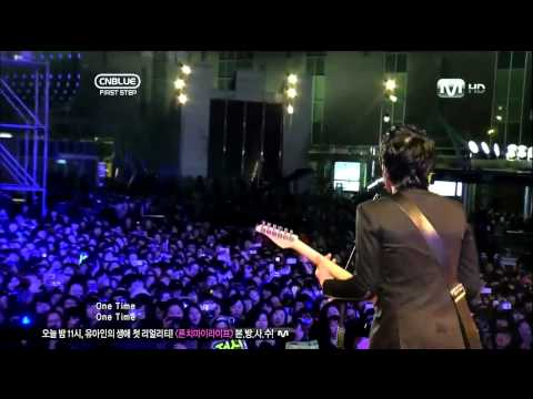 [110324] CN Blue - One Time @ CN Blue First Step