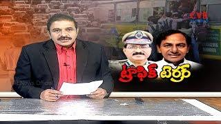 ట్రాఫిక్ టెర్రర్ | Huge Traffic Jam Problem In All Over Hyderabad | iTS-Intelligent Traffic System - CVRNEWSOFFICIAL
