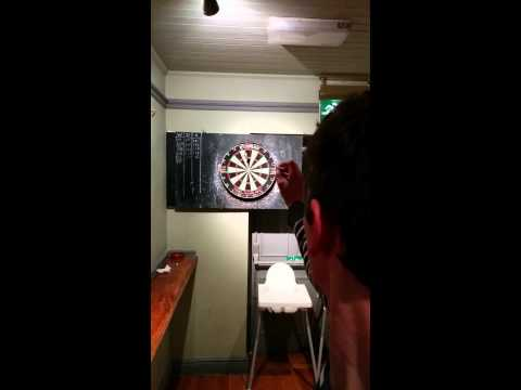 Local Celebrity Dan Atkinson - Darts