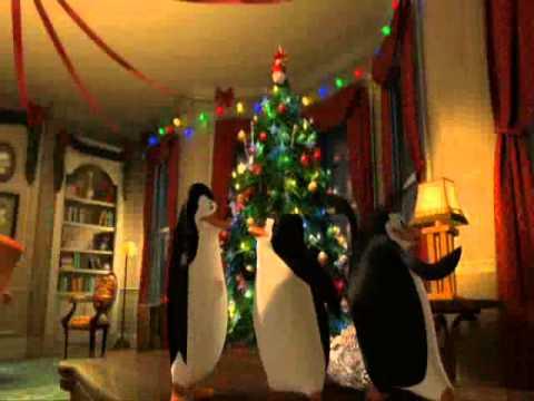 Pingwiny z madagaskaru Wigilia