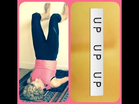 Easy Yoga for #Thyroid and #Anti-Aging - Supported Shoulderstand