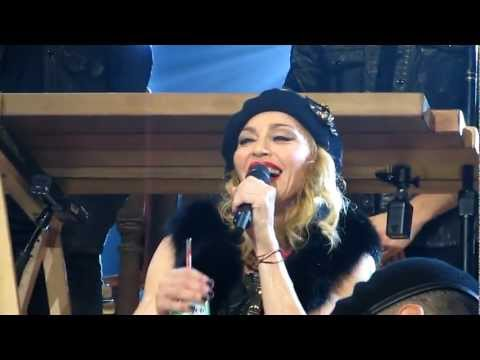 MADONNA MDNA BARCELONA 21 JUNE SPEECH