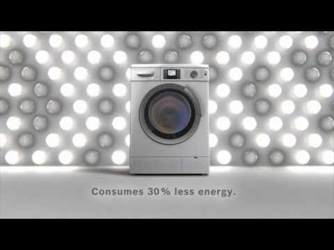 Bosch EcoLogiXX 8 washing machine with i DOS system