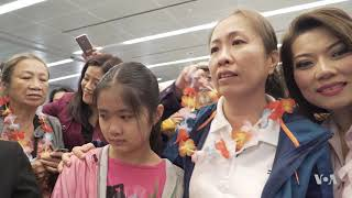 Vietnamese Blogger 'Mother Mushroom' Arrives in US After Two Years in Prison - VOAVIDEO