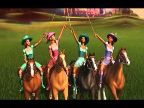 Trailer Barbie e as Três Mosqueteiras