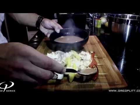 Greg Plitt   Seafood Sampler Cookbook