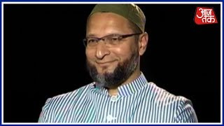 Asaduddin Owaisi के विवादित बयानों पर सीधी बात   Seedhi Baat - AAJTAKTV