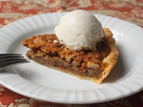 Chocolate Pecan Pie Recipe - Pecan Pie with Semi-Sweet Chocolate Chips