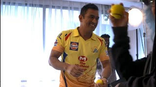 The Super Kings Show: BTS ft. MS Dhoni - ESPNSTAR