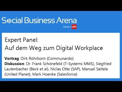 #cebitsba 2014 | Expert-Panel: Auf dem Weg zum Digital Workplace