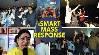 iSmart Shankar mass response @ RTC X Roads || Ram Pothineni || Puri Jagannadh || IndiaGlitz Telugu - IGTELUGU
