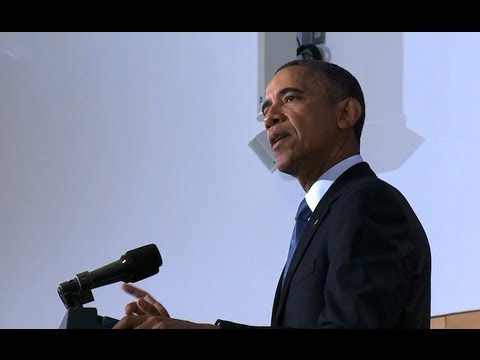 President Obama Speaks on the U.S. Counterterrorism Strategy