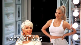 KUWTK | Kris Jenner Is Feeling Her Icy Blonde Hairdo | E! - EENTERTAINMENT