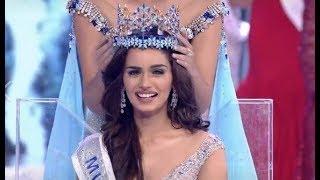 Miss India Manushi Chhillar crowned as Miss World 2017 - ABPNEWSTV