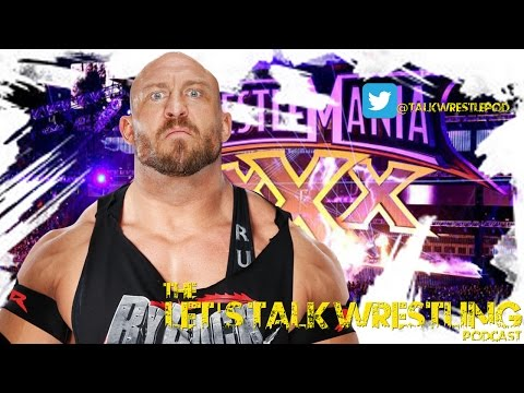 The Let's Talk Wrestling Podcast #51 - The Ryback Conundrum