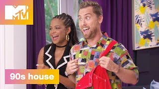 'Time Warp' Official Sneak Peek | 90's House: Hosted by Lance Bass & Christina Milian | MTV - MTV