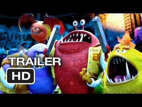 Monster's University TRAILER - It All Began Here (2013) - Pixar Prequel HD