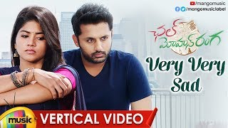 Very Very Sad Vertical Video Song | Chal Mohan Ranga Video Songs | Nithiin | Megha | Pawan Kalyan - MANGOMUSIC