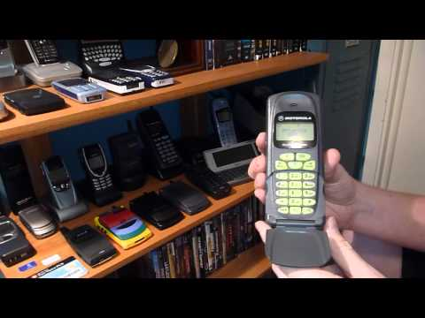 Classic Cell Phone Collection Part 12: Motorola MicroTAC 3000e 1996