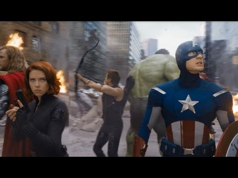 The Avengers Super Bowl TV Spot 2012
