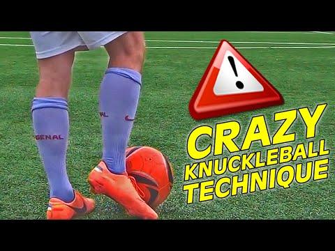 Learn The Cristiano Ronaldo Knuckle Ball Free Kick Shot Tutorial