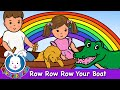 Row Row Row Your Boat - Nursery Rhymes- MyVoxSongs
