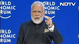 Prime Minister Modi Scores An Ace In Davos On Climate Change - NDTV
