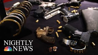 Woman Fights Gun Violence By Turning Illegal Firearms Into Jewelry | NBC Nightly News - NBCNEWS