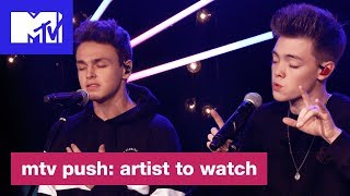 'Something Different' Live Performance by Why Don't We | MTV Push: Artist to Watch - MTV