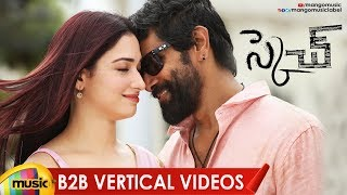 Sketch Movie Back To Back Vertical Video Songs | Vikram | Tamanna | Thaman S | Mango Music - MANGOMUSIC