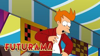 FUTURAMA | Season 9, Episode 8: Breakups And Boring Thing | SYFY - SYFY