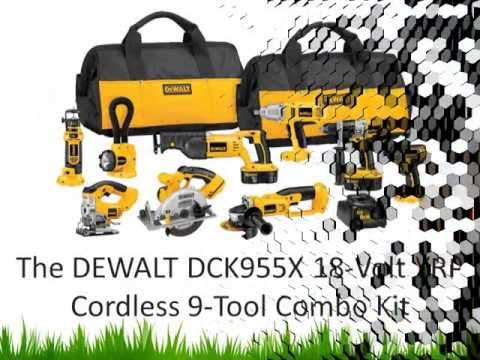 Cordless Power Tools Sets: DEWALT DCK955X
