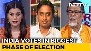 India Votes In The Biggest Phase: Who Has The Edge? - NDTV