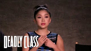 DEADLY CLASS | 10 Things You Don't Know About Lana Condor | SYFY - SYFY