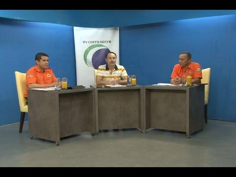 TV Costa Norte - Ações da Defesa Civil são temas do Sala de Imprensa