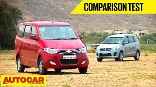 Chevrolet Enjoy Vs Maruti Ertiga | Comparo- Maruti Videos