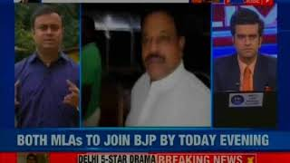 Another jolt for Goa Congress, two Congress MLAs submits their resignation to the Goa speaker - NEWSXLIVE
