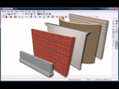 Home Design Software - Overview - Walls and Floor Layout