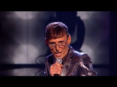 Johnny Robinson is in The Darkness - The X Factor 2011 Live Show 3 (Full Version)
