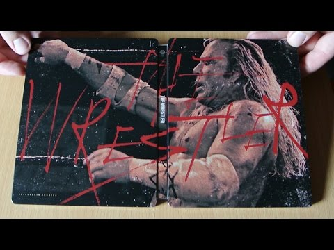 THE WRESTLER Steelbook Plain Archive Full Slip Blu-Ray Review Deutsch Darren Aronofsky Mickey Rourke