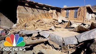 Inside One Iranian Village Devastated By Sunday's Earthquake | NBC News - NBCNEWS