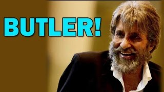 Amitabh Bachchan to play Dhanush's Butler in SHAMITABH Movie | Bollywood News - ZOOMDEKHO