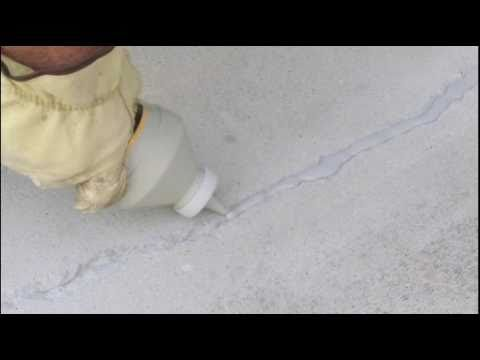 How To Repair Concrete Cracks