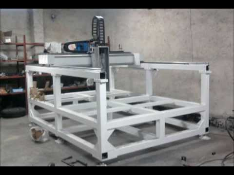 Homemade cnc router -fIVL83AwXrE